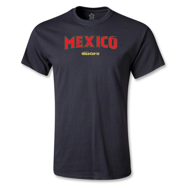 Mexico CONCACAF Gold Cup 2013 T-Shirt (Black)