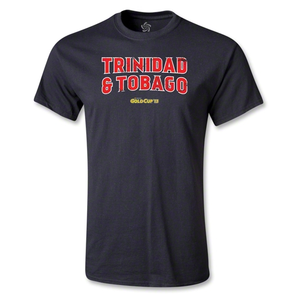 Trinidad and Tobago CONCACAF Gold Cup 2013 T-Shirt (Black)