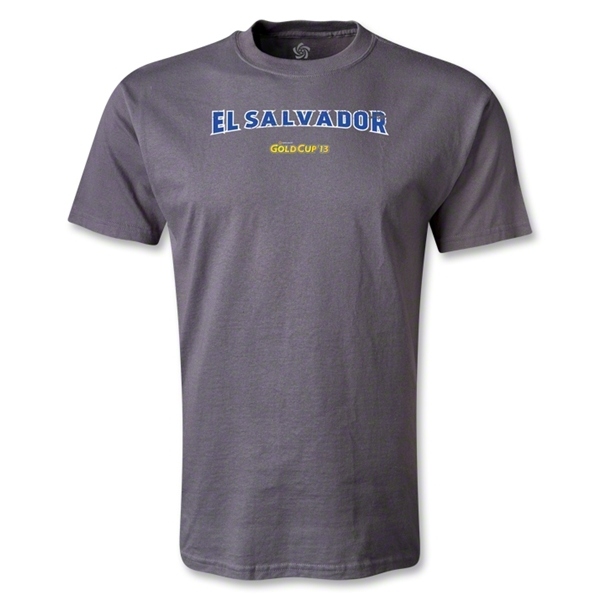 El Salvador CONCACAF Gold Cup 2013 T-Shirt (Dark Gray)