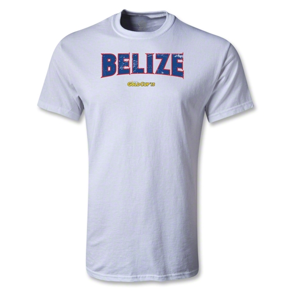 Belize CONCACAF Gold Cup 2013 T-Shirt (White)
