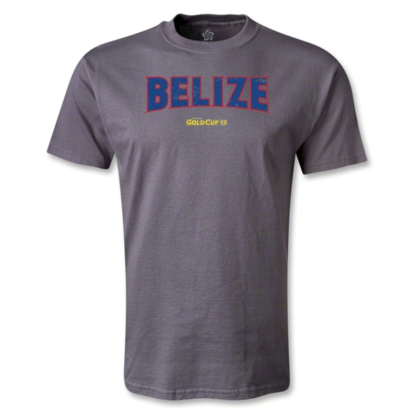 Belize CONCACAF Gold Cup 2013 T-Shirt (Dark Gray)