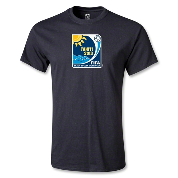 FIFA Beach World Cup 2013 Emblem T-Shirt (Black)