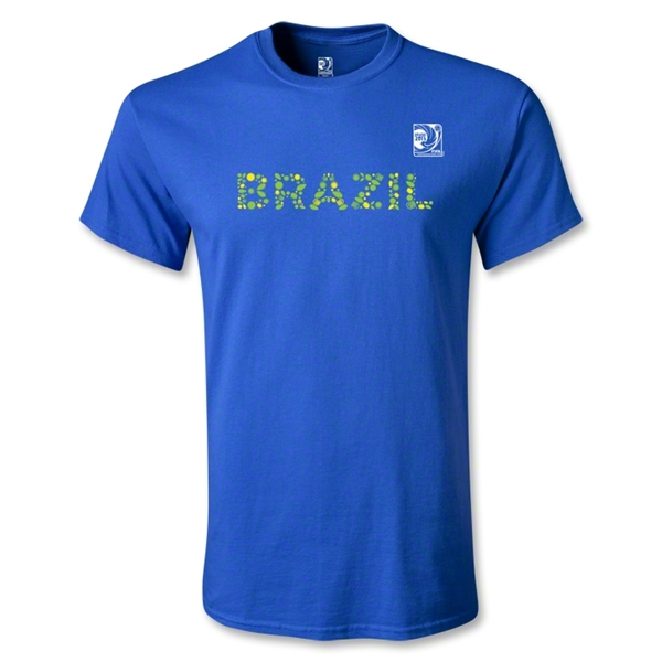 FIFA Confederations Cup 2013 Brazil T-Shirt (Royal)