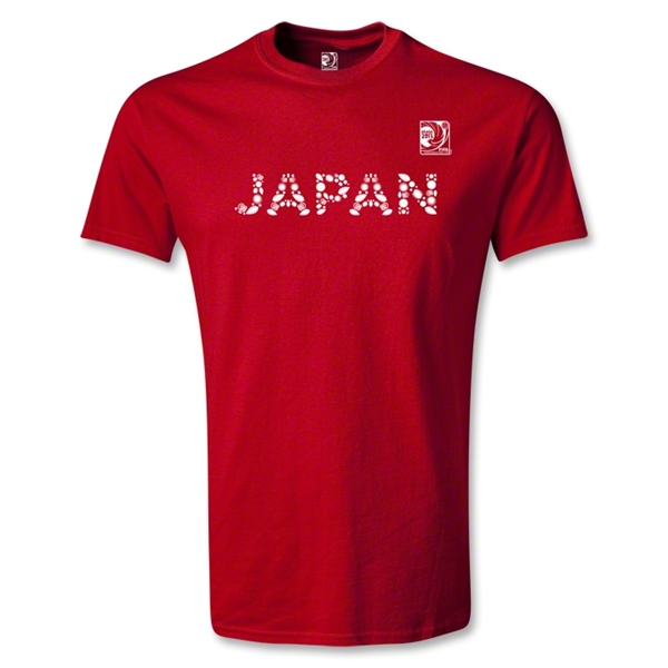 FIFA Confederations Cup 2013 Japan T-Shirt (Red)