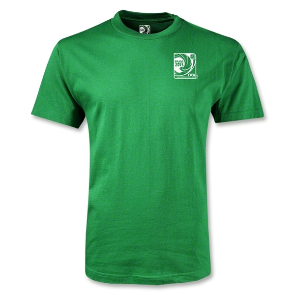 FIFA Confederations Cup 2013 Small Emblem T-Shirt (Green)