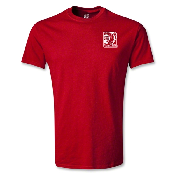 FIFA Confederations Cup 2013 Small Emblem T-Shirt (Red)