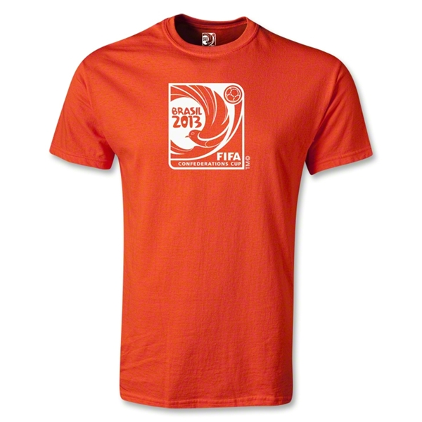 FIFA Confederations Cup 2013 Emblem T-Shirt (Orange)
