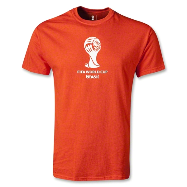 2014 FIFA World Cup Brazil(TM) Emblem T-Shirt (Orange)