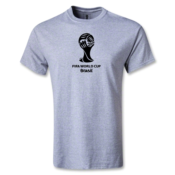 2014 FIFA World Cup Brazil(TM) Emblem T-Shirt (Gray)