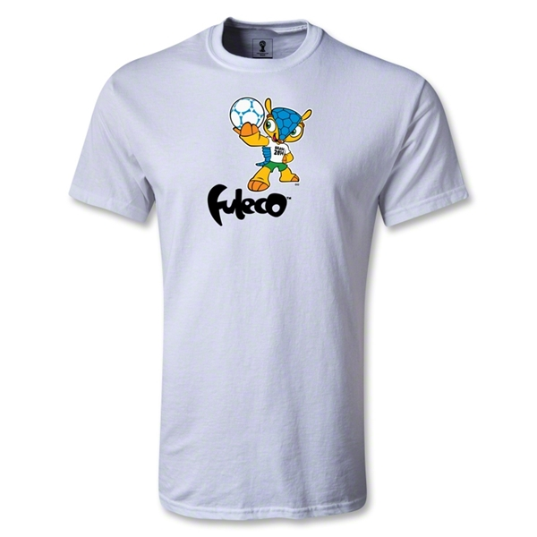 2014 FIFA World Cup Brazil(TM) Mascot Standard T-Shirt (White)