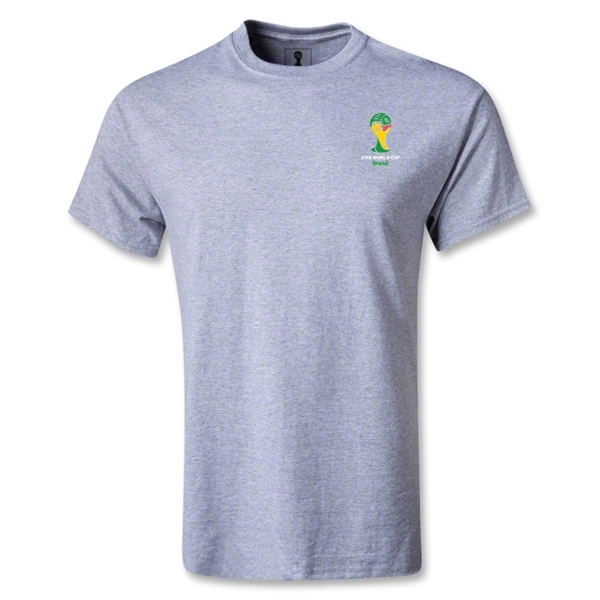 2014 FIFA World Cup Brazil(TM) Men's Emblem T-Shirt (Grey)