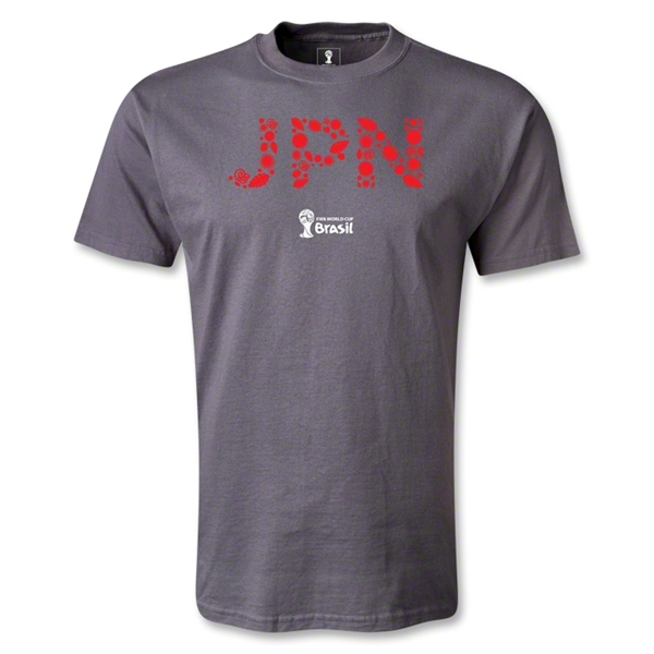 Japan 2014 FIFA World Cup Brazil(TM) Elements T-Shirt (Dark Gray)