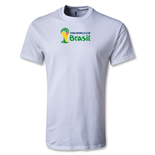 2014 FIFA World Cup Brazil(TM) Landscape Emblem T-Shirt (White)
