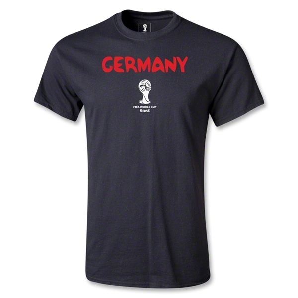 Germany 2014 FIFA World Cup Brazil(TM) Men's Core T-Shirt (Black)