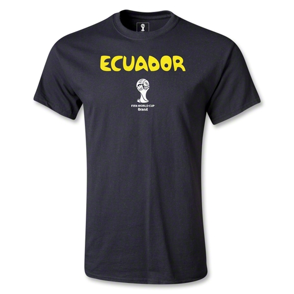 Ecuador 2014 FIFA World Cup Brazil(TM) Core T-Shirt (Black)