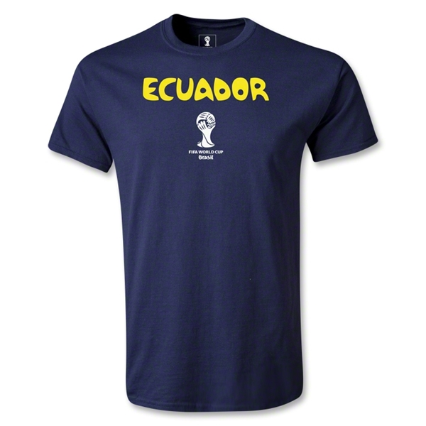 Ecuador 2014 FIFA World Cup Brazil(TM) Core T-Shirt (Navy)