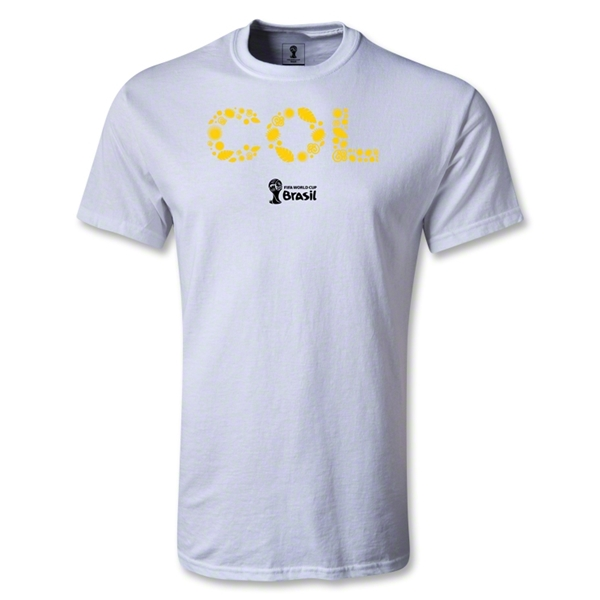 Colombia 2014 FIFA World Cup Brazil(TM) Elements T-Shirt (White)
