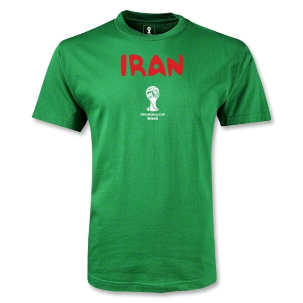 Iran 2014 FIFA World Cup Brazil(TM) Men's Core T-Shirt (Green)