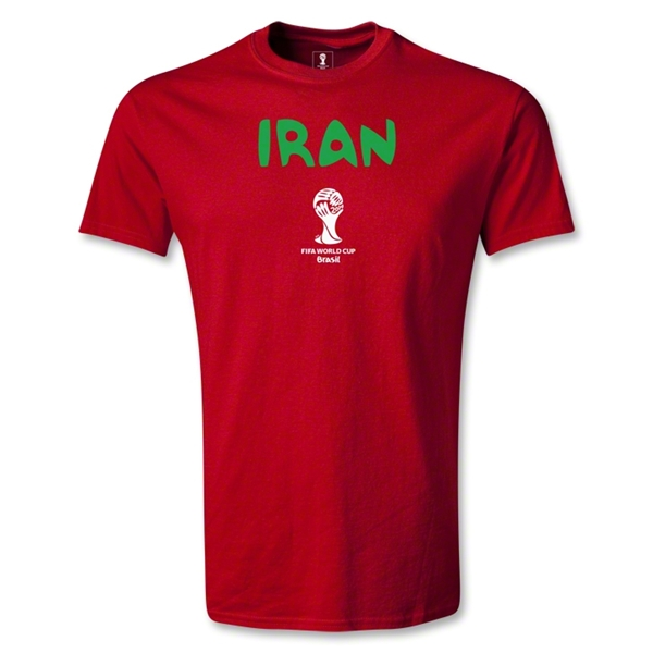 Iran 2014 FIFA World Cup Brazil(TM) Men's Core T-Shirt (Red)