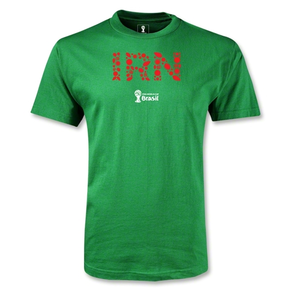 Iran 2014 FIFA World Cup Brazil(TM) Men's Elements T-Shirt (Green)