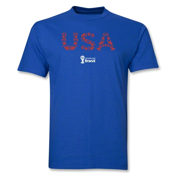 USA 2014 FIFA World Cup Brazil(TM) Elements T-Shirt (Royal)