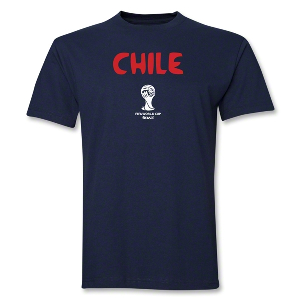 Chile 2014 FIFA World Cup Brazil(TM) Core T-Shirt (Navy)