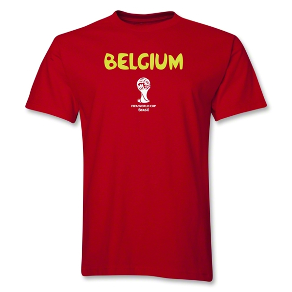 Belgium 2014 FIFA World Cup Brazil(TM) Core T-Shirt (Red)