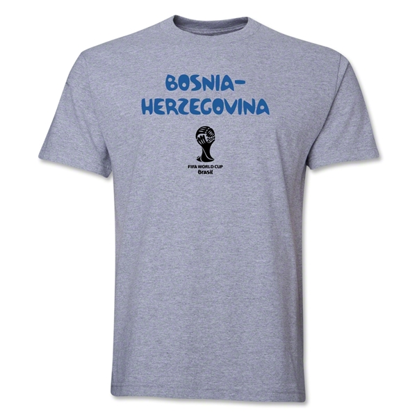 Bosnia-Herzegovina 2014 FIFA World Cup Brazil(TM) Core T-Shirt (Gray)