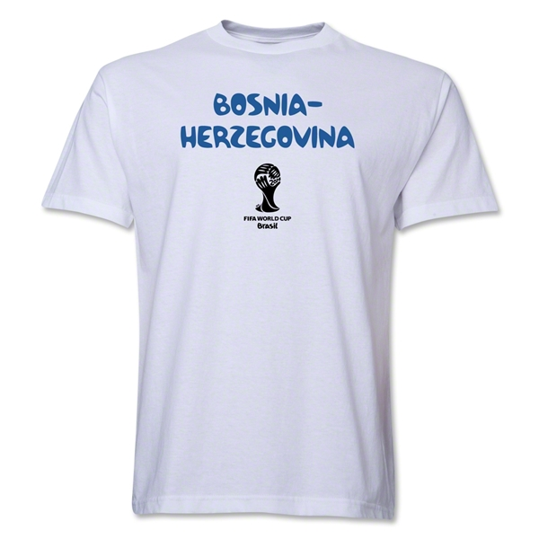 Bosnia-Herzegovina 2014 FIFA World Cup Brazil(TM) Core T-Shirt (White)