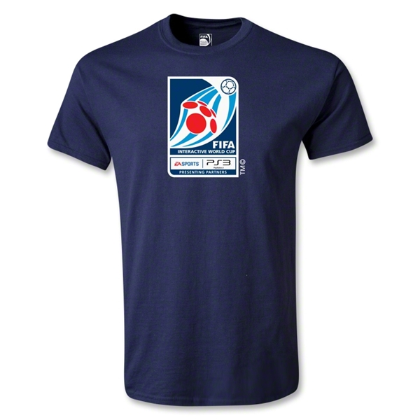 FIFA Interactive World Cup Emblem T-Shirt (Navy)