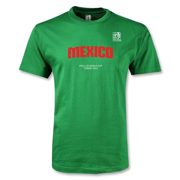 FIFA U-20 World Cup 2013 Mexico T-Shirt (Green)