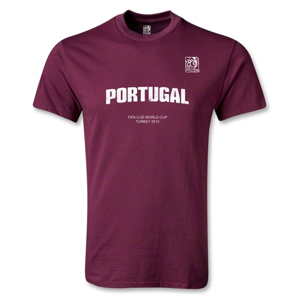 FIFA U-20 World Cup 2013 Portugal T-Shirt (Maroon)