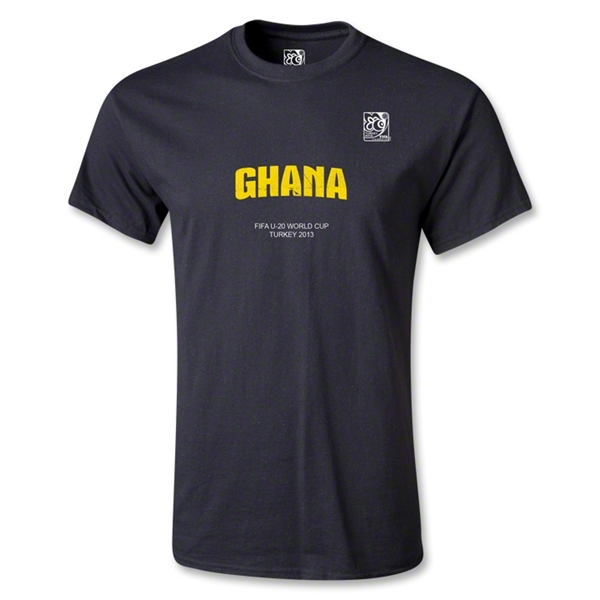 FIFA U-20 World Cup 2013 Ghana T-Shirt (Black)