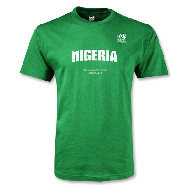 FIFA U-20 World Cup 2013 Nigeria T-Shirt (Green)