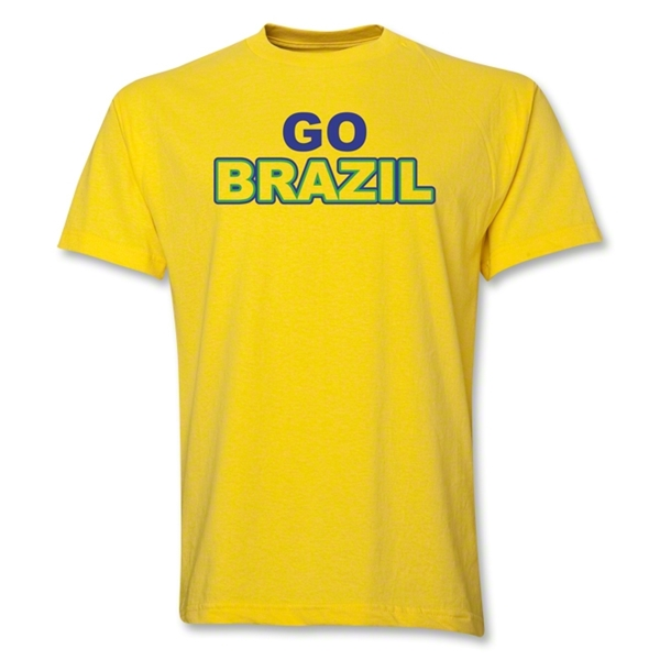 Go Brazil T-Shirt (Yellow)