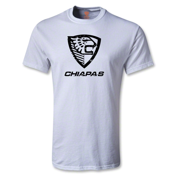 Jaguares de Chiapas Distressed Logo T-Shirt (White)