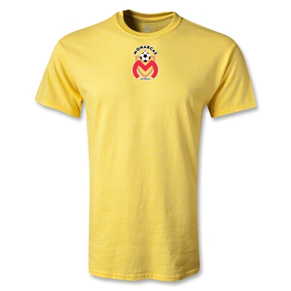 Morelia Monarcas Small Logo T-Shirt (Yellow)