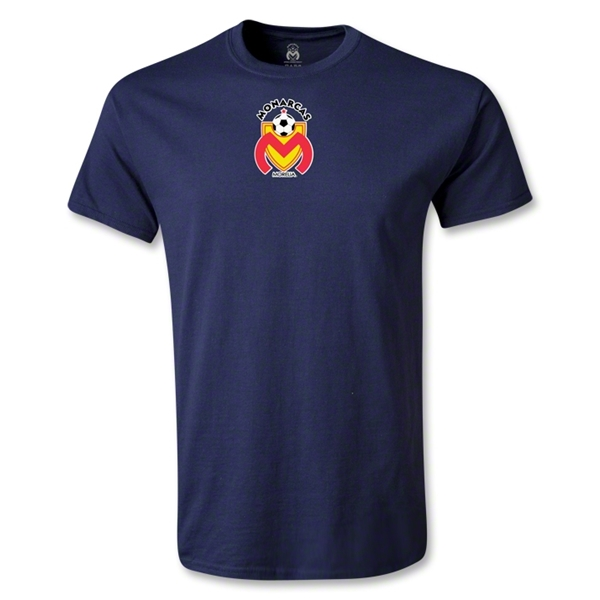 Morelia Monarcas Small Logo T-Shirt (Navy)
