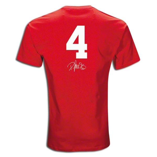Manchester United Jones 4 T-Shirt (Red)