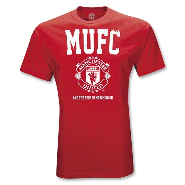Manchester United Big MUFC T-Shirt (red)