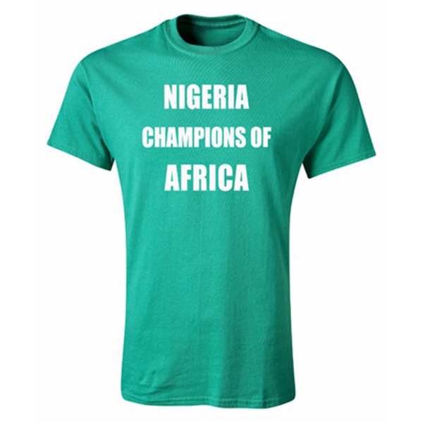 Nigeria 2013 Champions of Africa T-Shirt (Green)