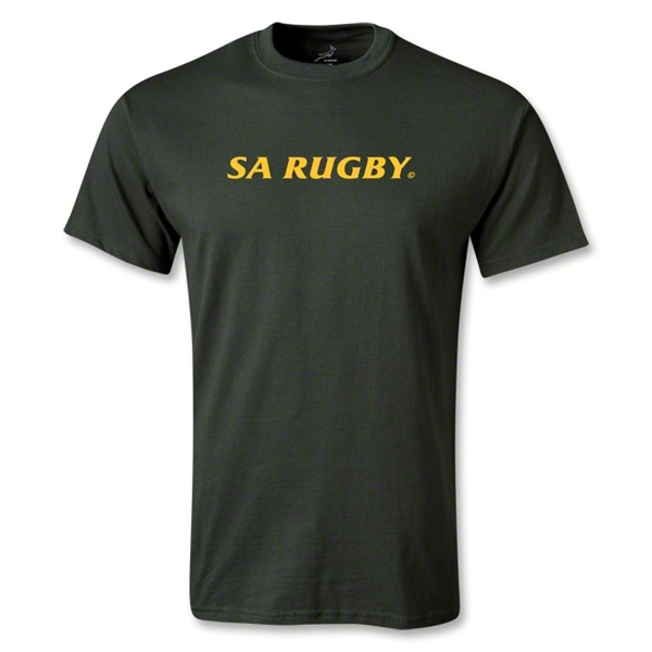 South Africa Springboks SS T-Shirt (Dark Green)