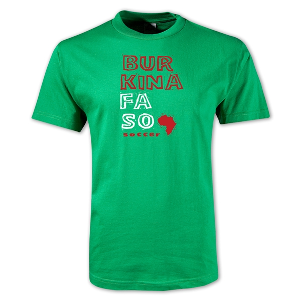 Burkina Faso Country T-Shirt (Green)