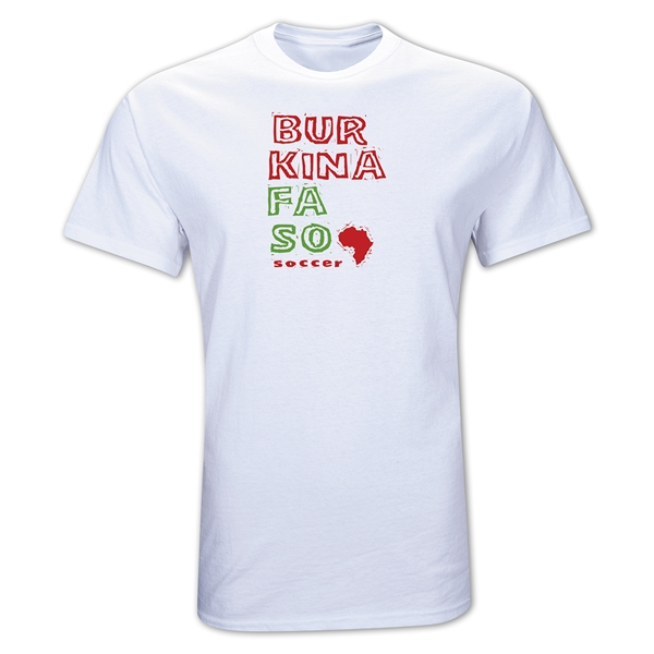 Burkina Faso Country T-Shirt (White)