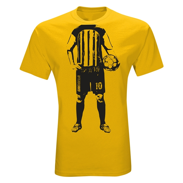 Player Graphic T-Shirt (Yellow)