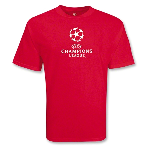 UEFA Champions League Classic Logo T-Shirt III (Red)