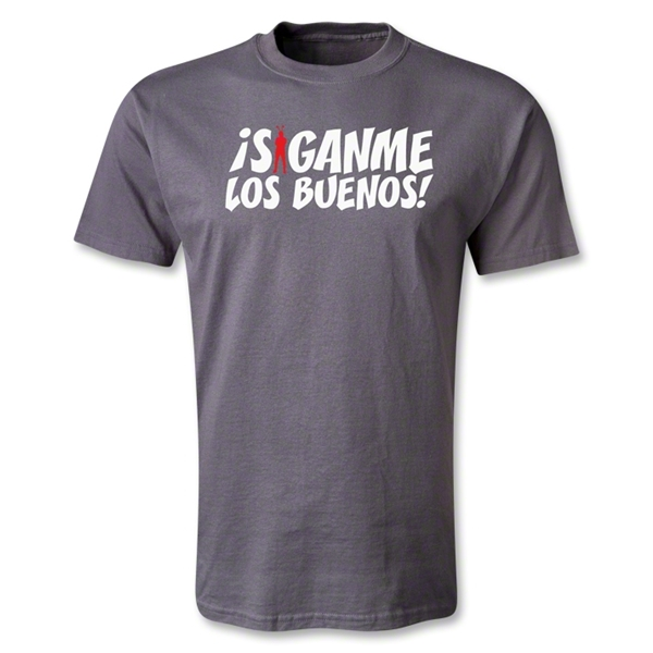 Chapulin Los Buenos T-Shirt (Dark Gray)