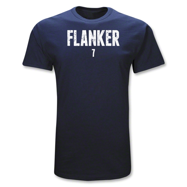 Flanker 7 Position Rugby T-Shirt (Navy)