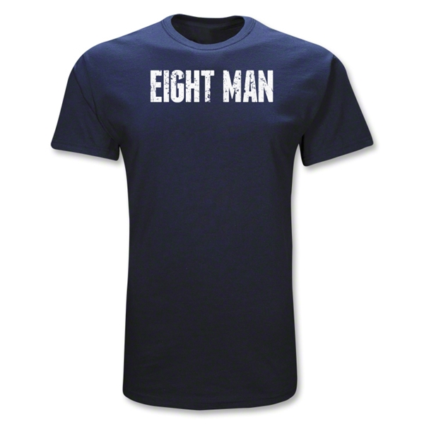Eight Man Position Rugby T-Shirt (Navy)