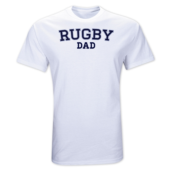 Rugby Dad T-Shirt (White)